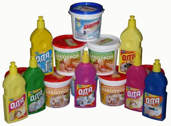 Моющие и чистящие средства для дома ТМ Дакос