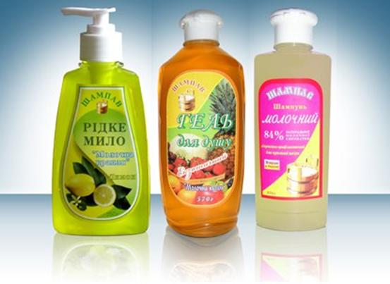 Жидкие мыла, шампуни и гели Шампав